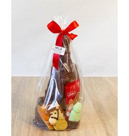 Sinterklaaspakket met  sint 250 gr en snoepgoed van de Sint