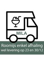 Missault Roomijs - chocolade dubbel -  pot 1 liter