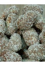 Melk truffels - met kokosvulling en crème praline - 160 gr