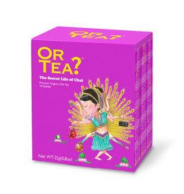 Or Tea? The Secret Life of Chai - Theebuiltjes - 15 st