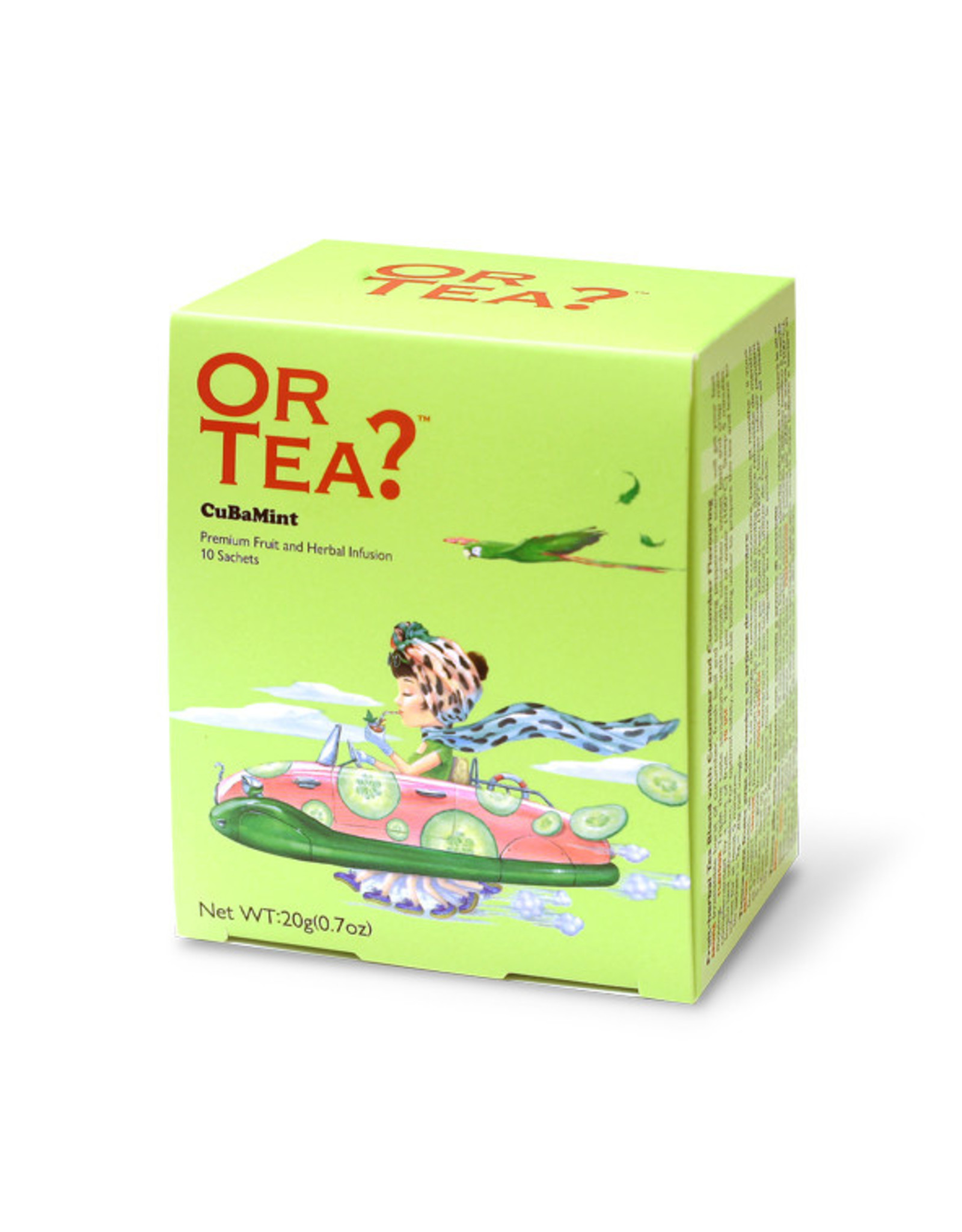 Or Tea?  CuBaMint - Theebuiltjes - 10 st