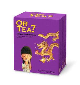 Or Tea? Dragon Jasmine Green BIO   - Theebuiltjes - 10 st