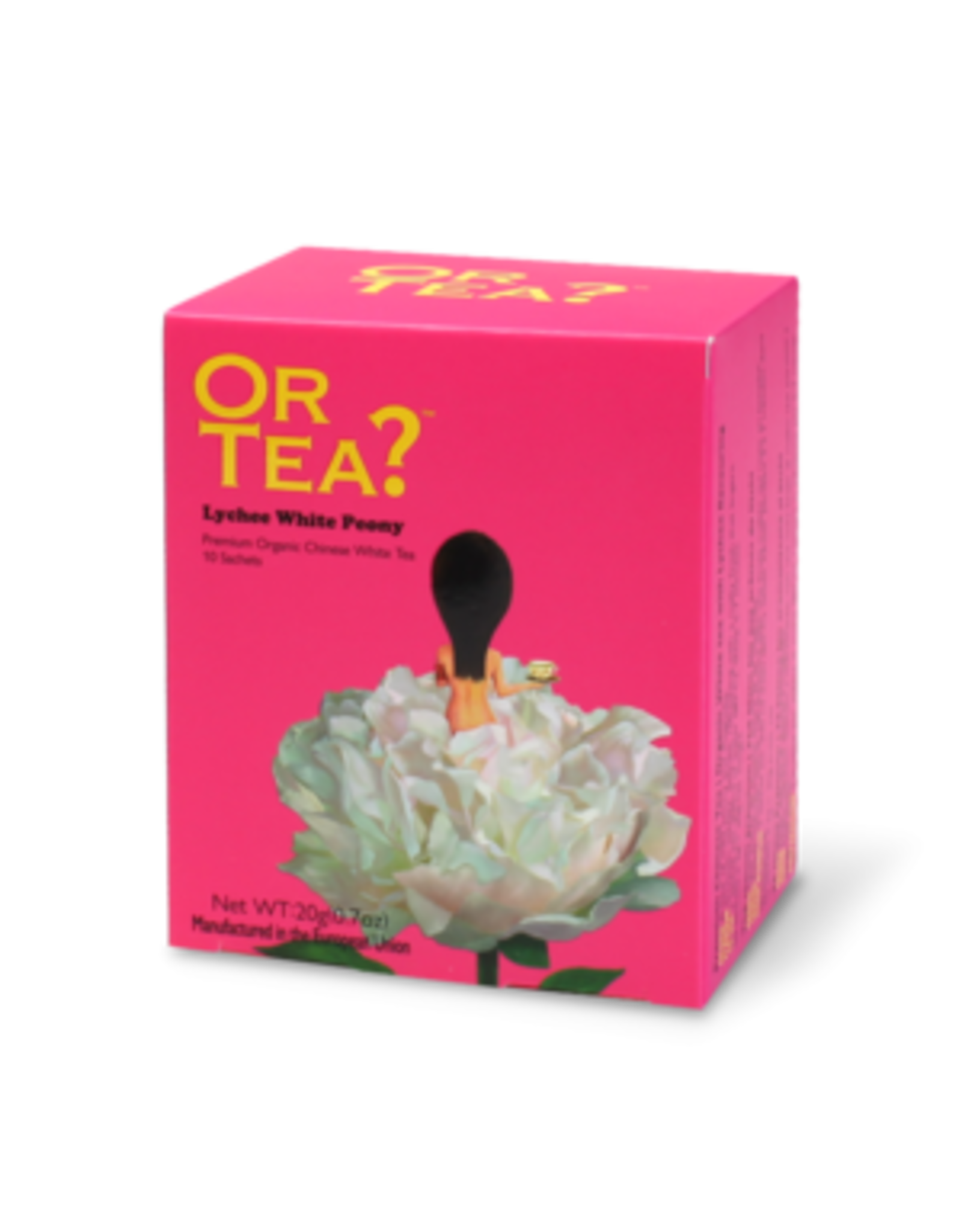 Or Tea? Lychee White Peony BIO - Thebuiltjes - 10 st