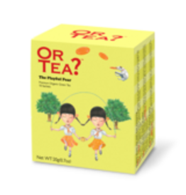 Or Tea? The Playful Pear BIO - Theebuiltjes - 10 st