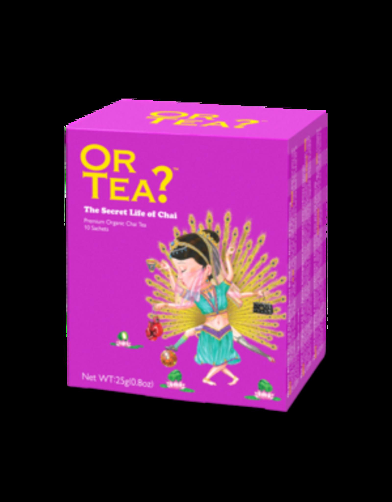 Or Tea? The Secret Life of Chai  BIO - Theebuiltjes - 10 st