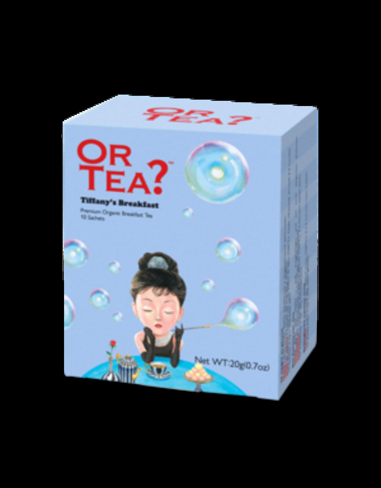 Or Tea? Tiffany's Breakfast BIO - Theebuiltjes - 10 st