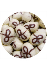 Paaseitjes Deco - Wit - Hazelnootpraliné crispy