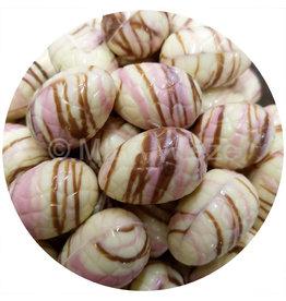 Paaseitjes Deco - Wit - Aardbeicrème en meringueparel