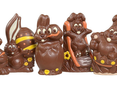 Chocolade paasfiguren - per stuk