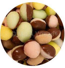 Paaseitjes - Half melkchocolade - half fondantsuiker