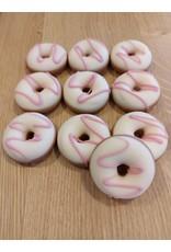 ickx Donut pralines Aardbei crème