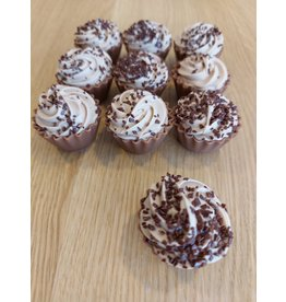 ickx Cup cake pralines Cappuccino ganache
