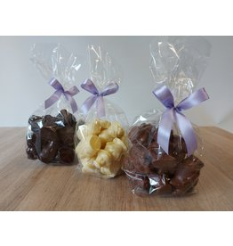 Piepfiguren van Sinterklaas - Zak 12 x 25 gr -  Callebaut chocolade