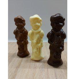 Lachende piet - 90 gr - Callebaut chocolade