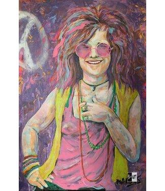 Marcus Freepainter Janis Joplin