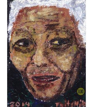 Frits Njio Nelson Mandela