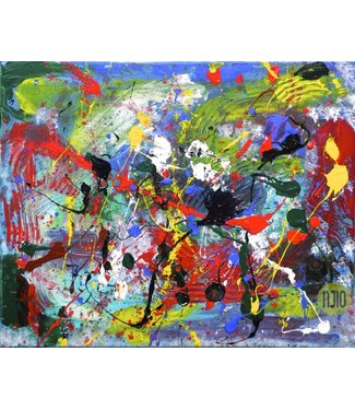 Frits Njio Abstraction 2