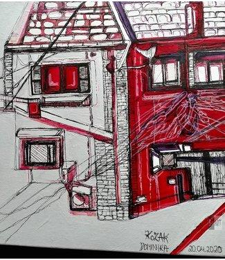 Dominika Kozak Het rode huis