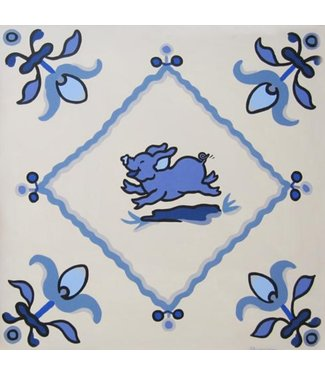 Shunyam Dutch tile piggy
