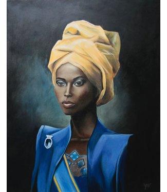 Yvet Noordermeer Royal blue