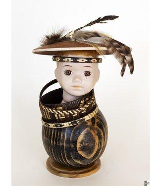 Frida Badoux Indian boy