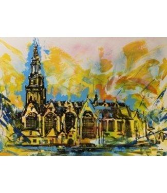 Stefan Postol Oude kerk Amsterdam