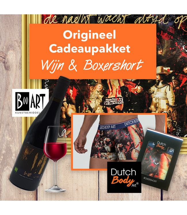 Dutch Body Art Cadeaupakket 3