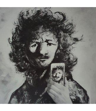 Mia van der Moolen Rembrandt selfie 2