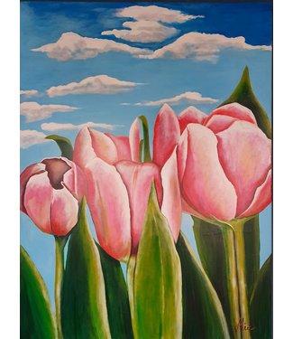 Mia van der Moolen Tulpen in Amsterdam