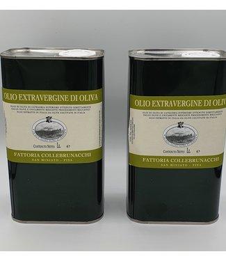 Fattoria Collebrunacchi Olive oil in a 1 liter can