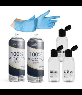Mega Desinfectie Voordeel Set