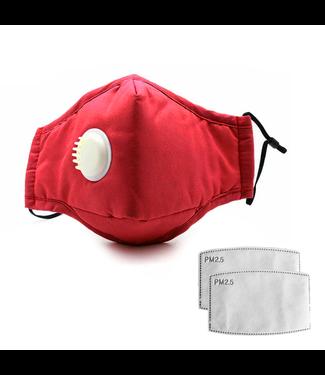 Klasse 3 | Herbruikbaar Wasbaar Masker - Rood