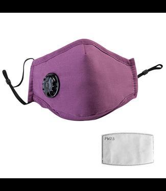 Herbruikbaar Wasbaar Masker - Paars