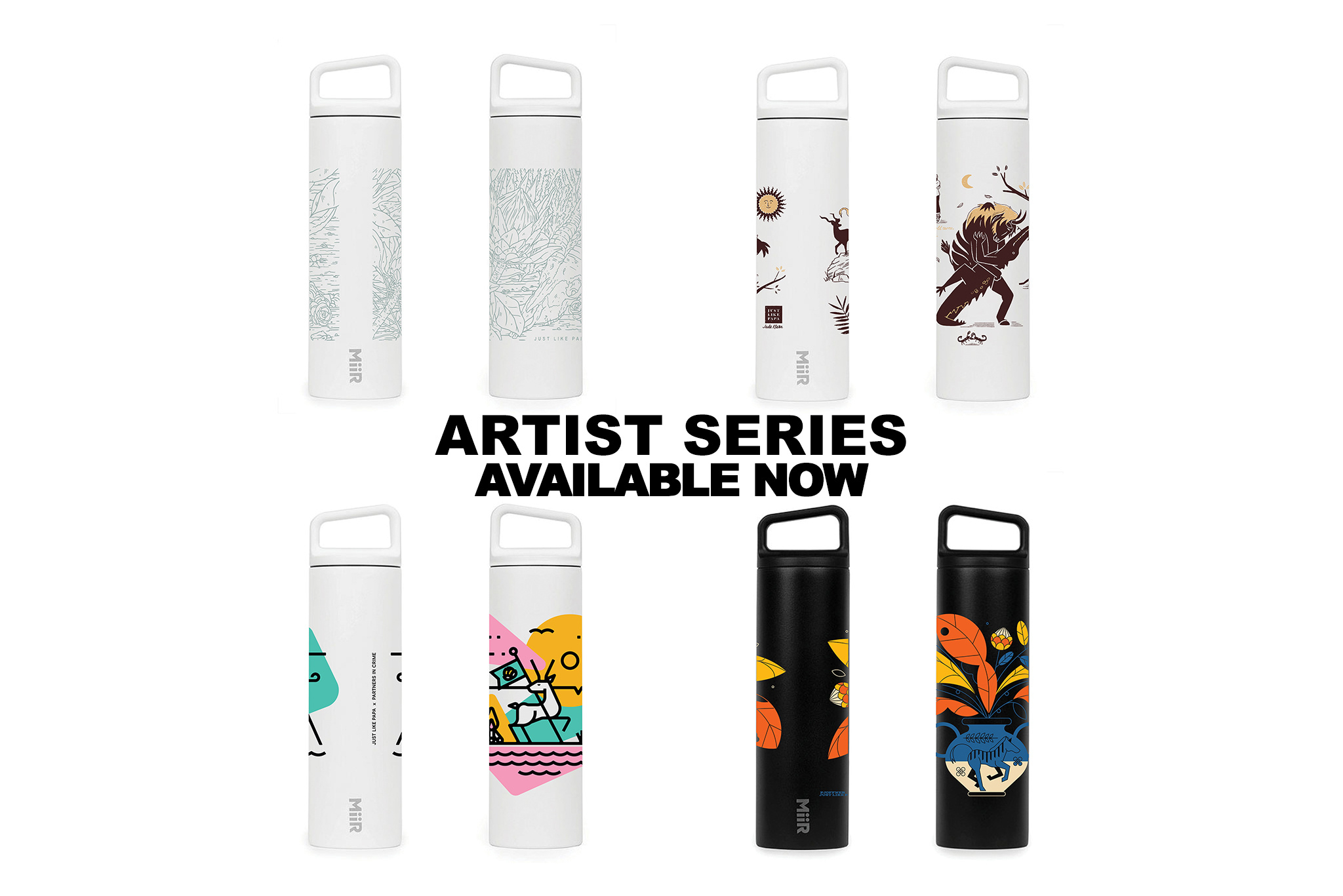 MiiR Artist Series: Available Now
