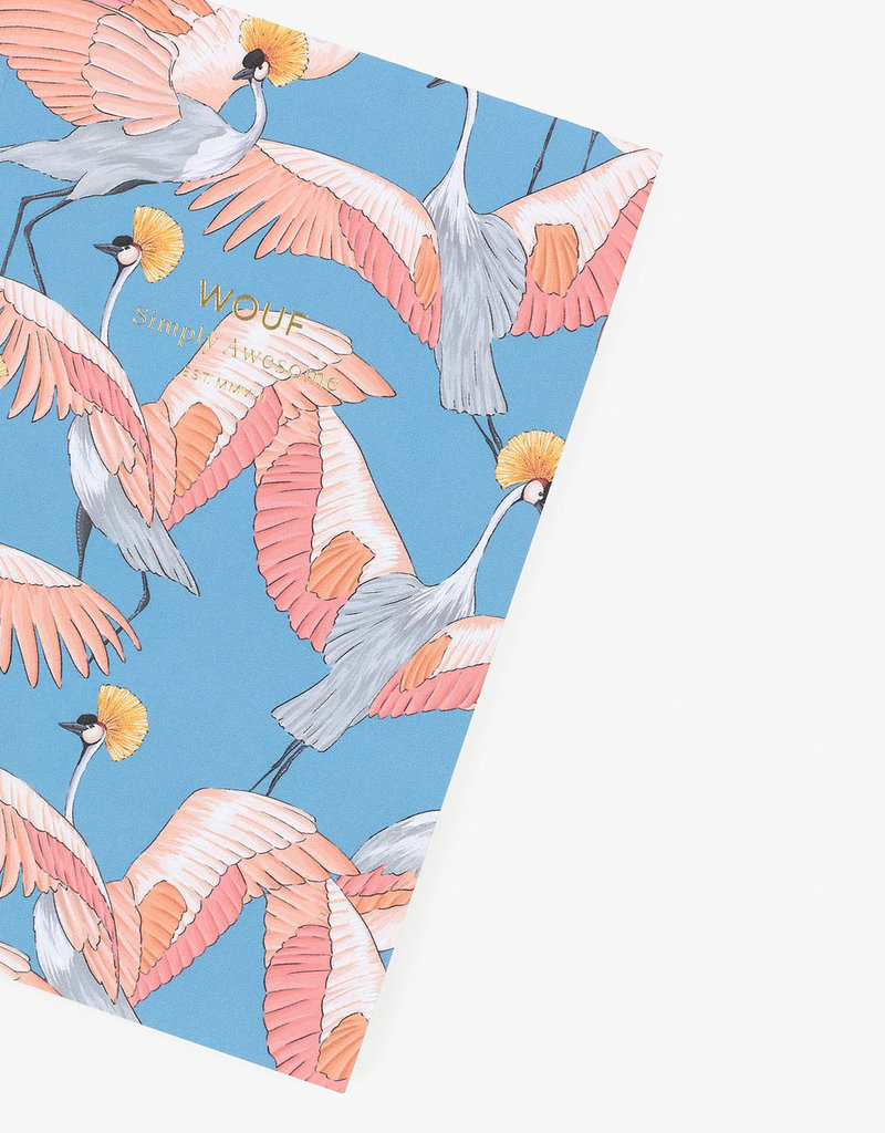 WOUF Notebook A6 - Imperial Heron