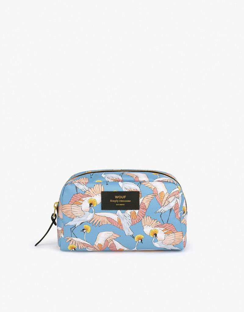 WOUF Makeup Bag - Imperial Heron