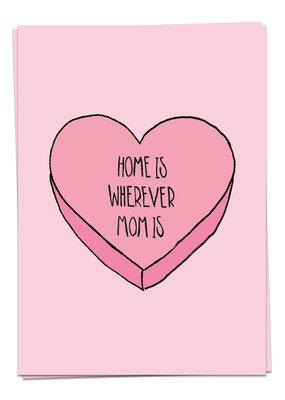 Kaart Blanche MomLove - Home is mom