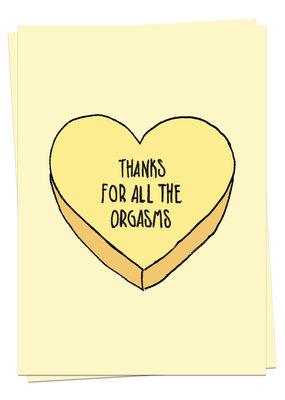 Kaart Blanche Love - Orgasms