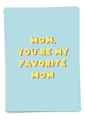 Kaart Blanche MomLove - Favorite mom