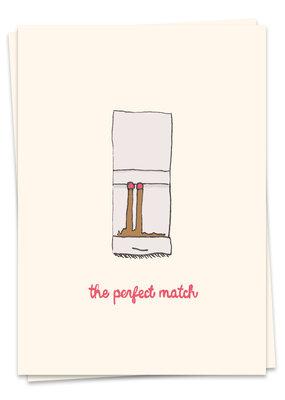 Kaart Blanche Love - Perfect match