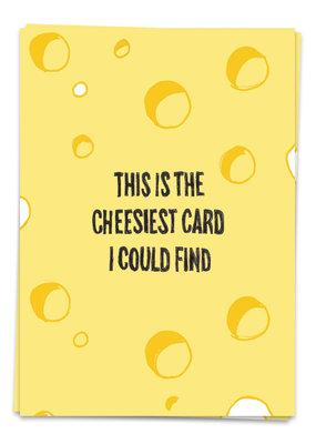 Kaart Blanche Love - Cheesiest card