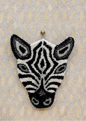 Doing Goods Zebra Head Carpet