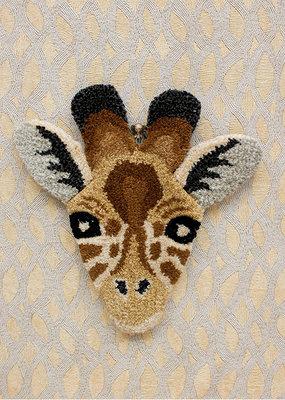 Doing Goods Giraffe Head Carpet