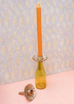 Doing Goods Poppy Bottle Candle Holder