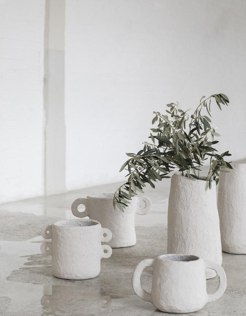 SERAX Plant Pot (L) - Papier-Mâché - Four Ears