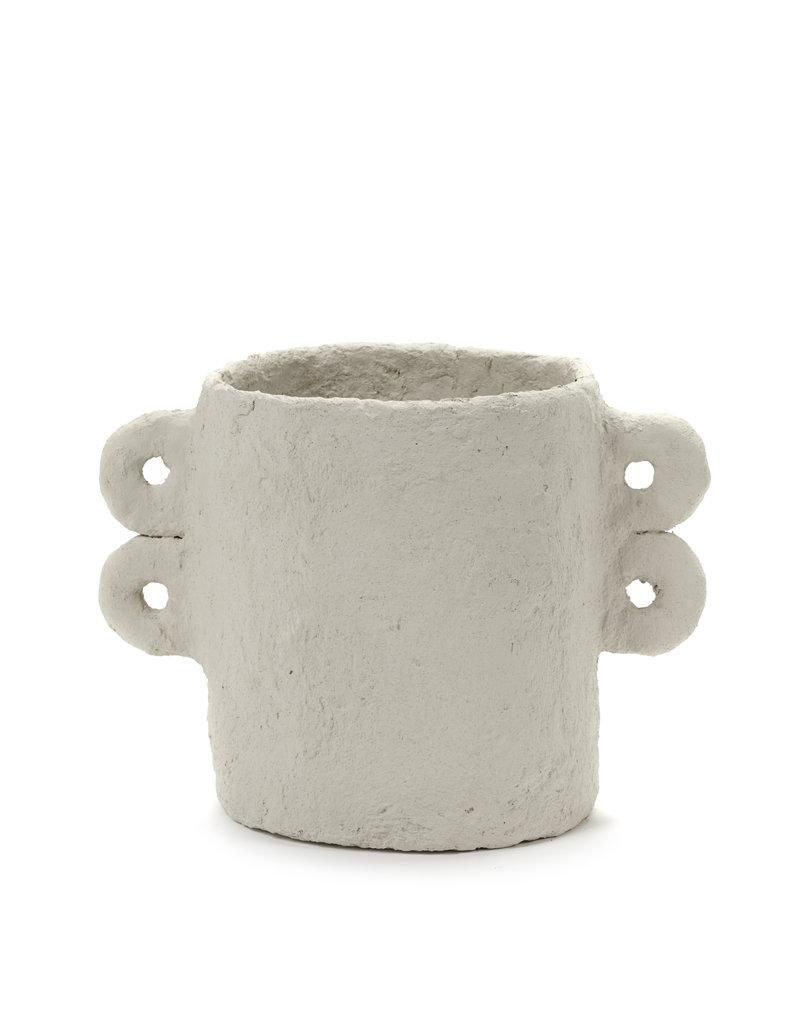 SERAX Plant Pot - Papier-Mâché - Four Ears