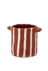 SERAX Plant Pot - Papier-Mâché - Red