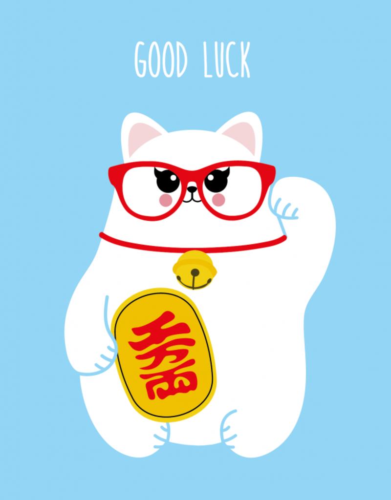 Studio Inktvis Support - Good luck - Maneki Neko
