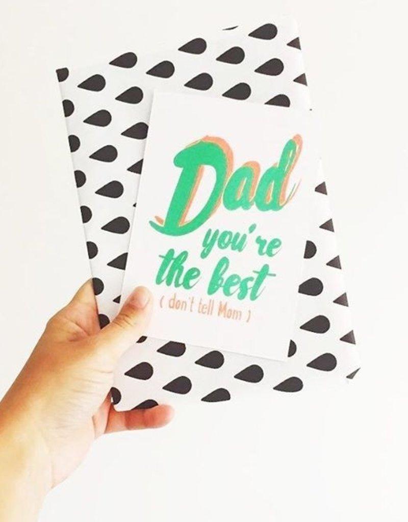 Studio Inktvis DadLove - Dad, you're the best