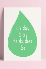 Studio Inktvis Support - It's okay to cry